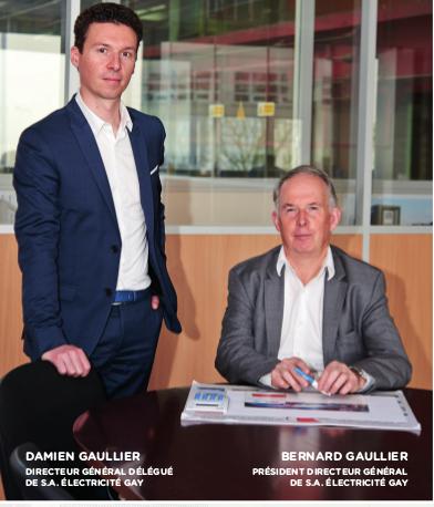Damien et Bernard GAULLIER | Gay Electricité