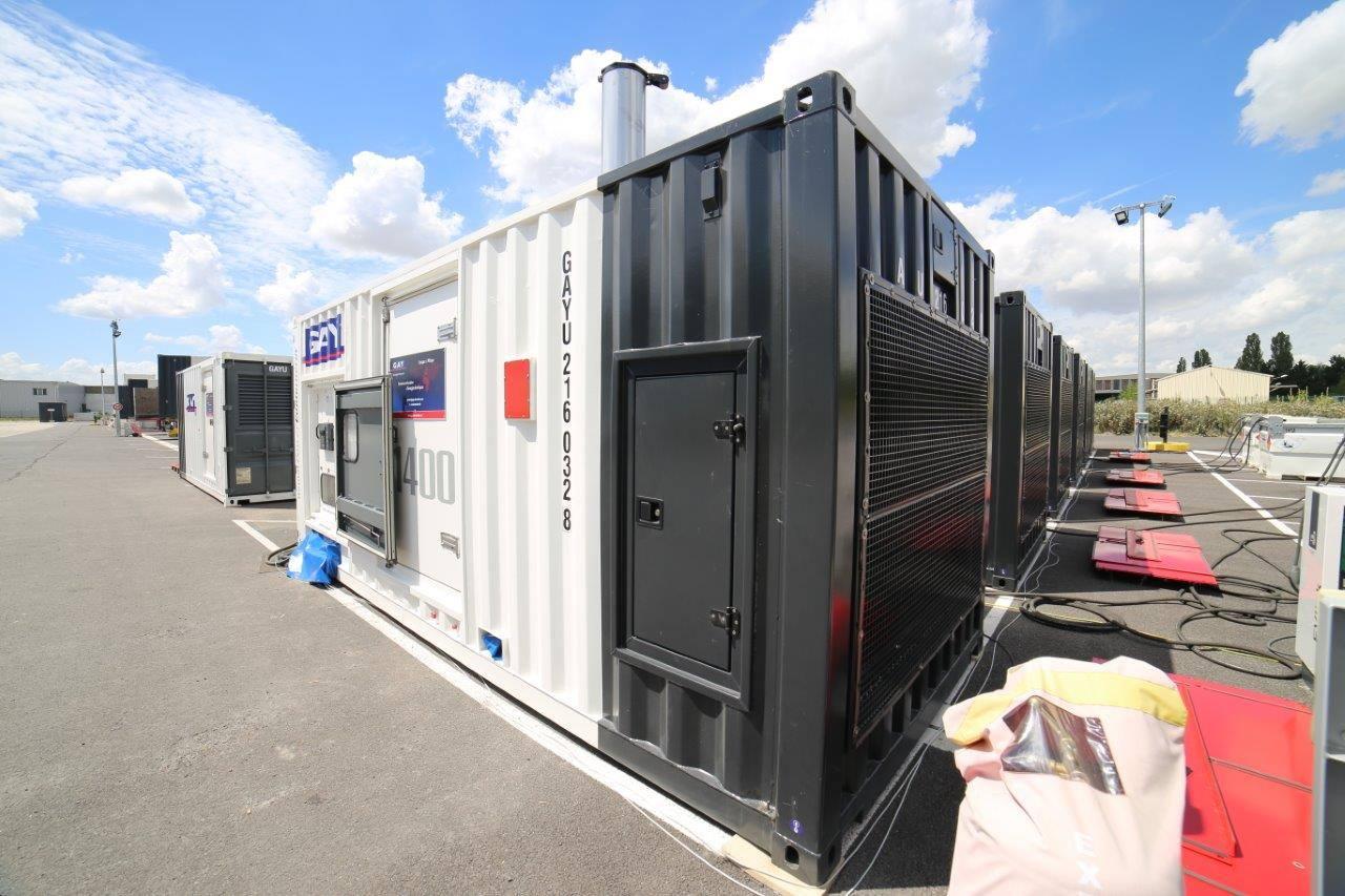 GAY Electricité Power Plant Generator Rentals