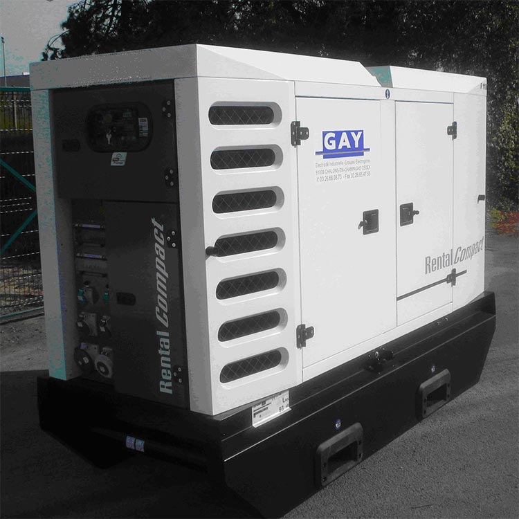 Groupe électrogène N° GE 367 – 110/100 kVA