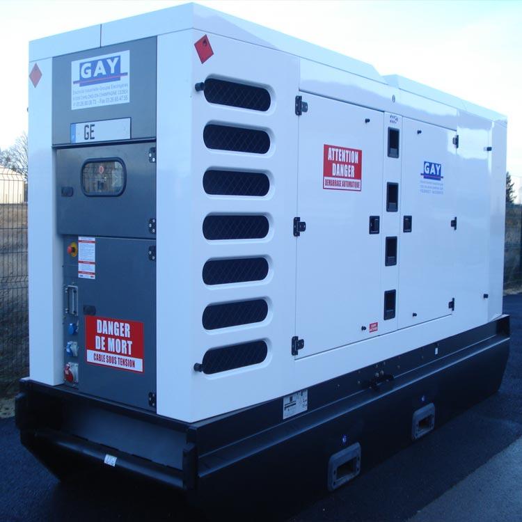 Groupe électrogène N° GE 370 – 275/250 kVA